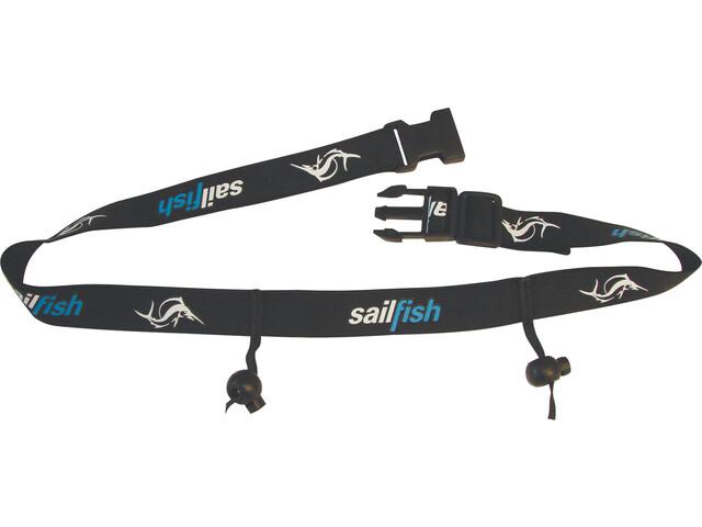 sailfish Racenumberbelt, czarny